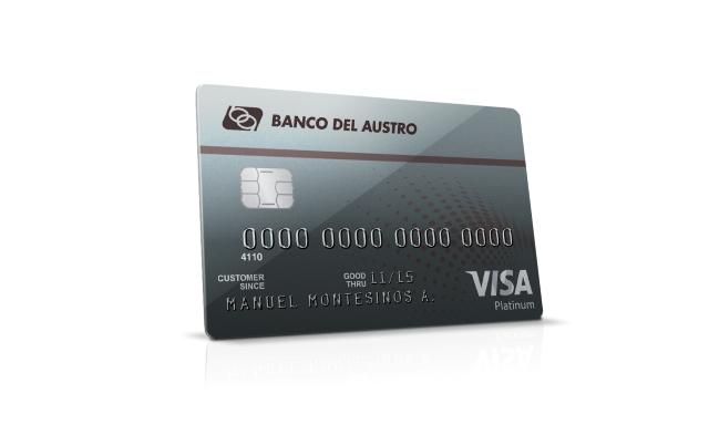 Banco del austro portal tarjetas visa cr dito platinum Habilitar visa debito para el exterior